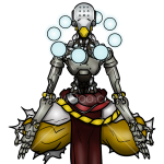 How to Draw Zenyatta, Robots
