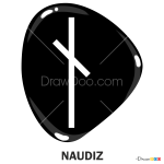 How to Draw Naudiz, Runes