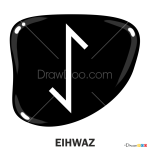 How to Draw Eihwaz, Runes