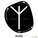 How to Draw Algiz, Runes