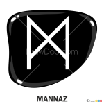 How to Draw Mannaz, Runes