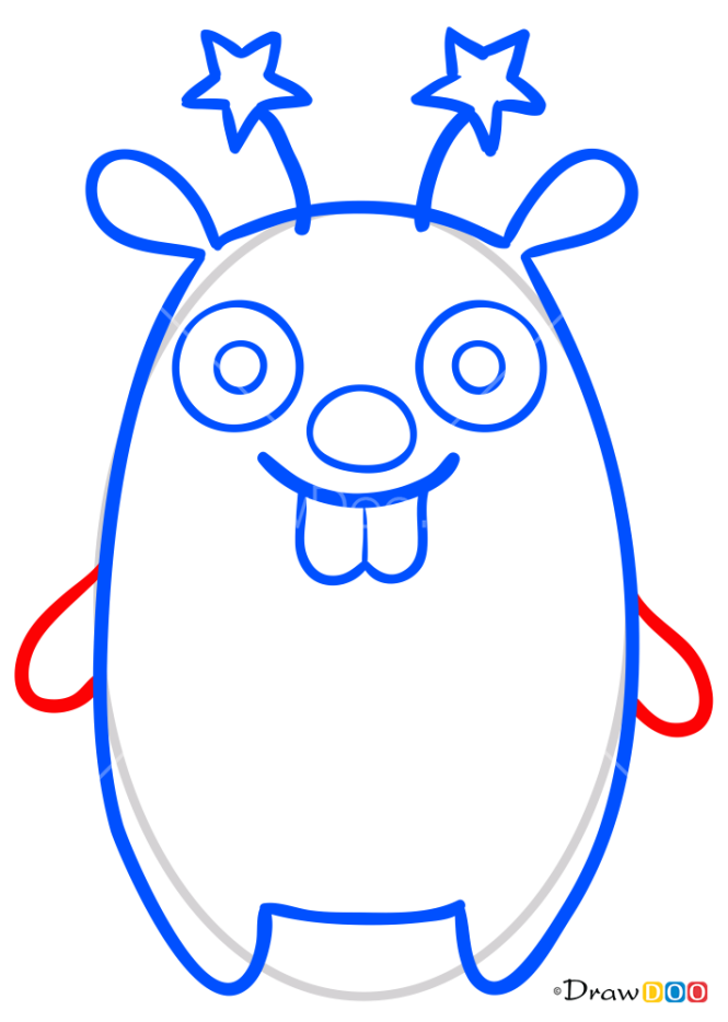 How to Draw Binky, Sago Mini