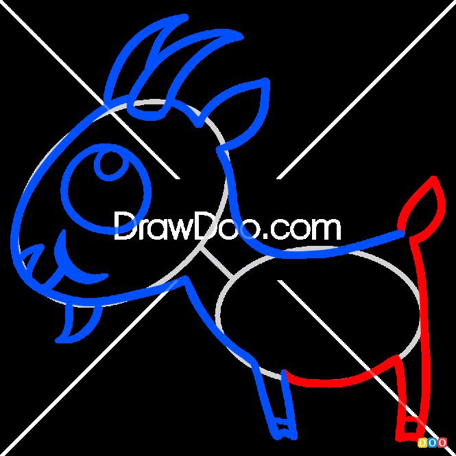 How to Draw Goat, Sago Mini