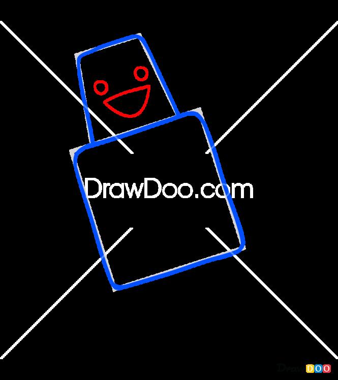 How to Draw Hugbot, Sago Mini