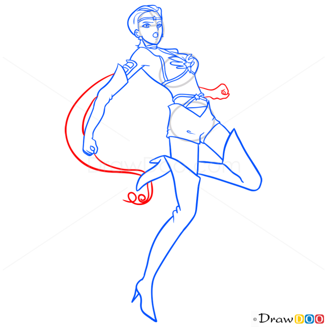 How to Draw Kou Taiki, Sailor Moon