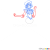 How to Draw Sailor Mercury, Sailor Moon