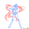How to Draw Sailor Moon, Sailor Moon