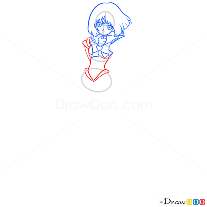 How to Draw Sailor Saturn, Sailor Moon