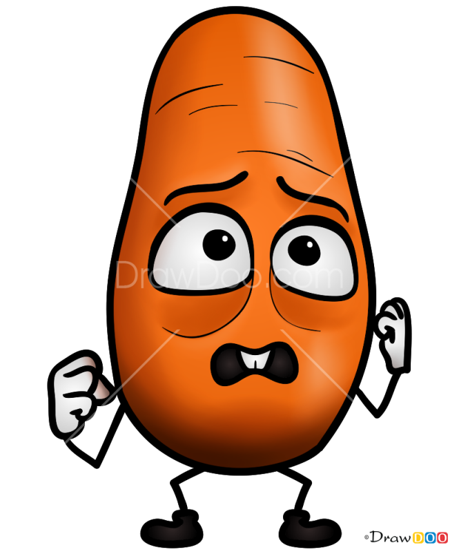 How to Draw Baby Carrot, Sausage Party
