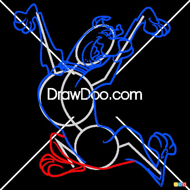 How to Draw Scooby Doo 2, Scooby Doo