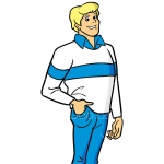 How to Draw Fred Jones 2, Scooby Doo