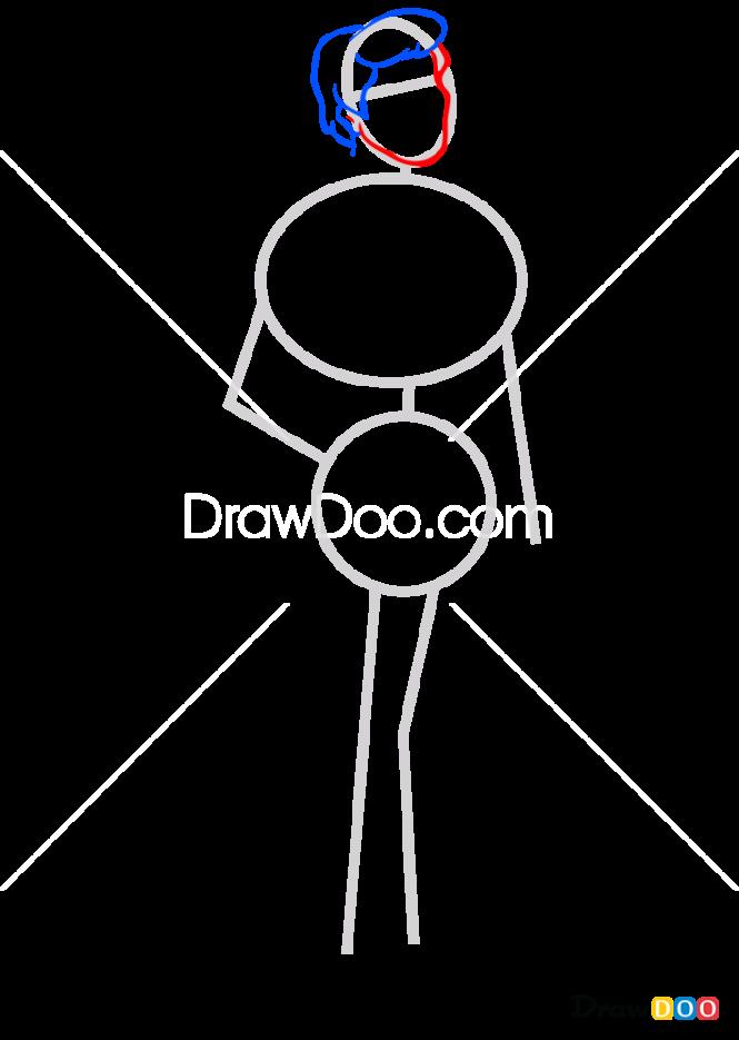 How to Draw Fred Jones 2, Scooby Doo