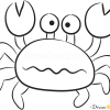 How to Draw Small Crab, Sea Animals