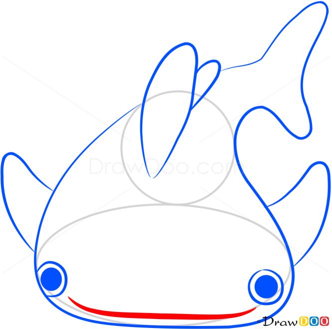How to Draw Tiger Shark, Sea Animals