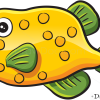 How to Draw Funny Fish, Sea Animals
