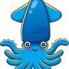 How to Draw Blue Octopus, Sea Animals