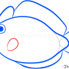 How to Draw Pink Fish, Sea Animals