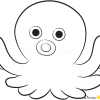 How to Draw Little Octopus, Sea Animals