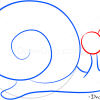 How to Draw Small Snail, Sea Animals