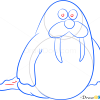How to Draw Walrus, Sea Animals