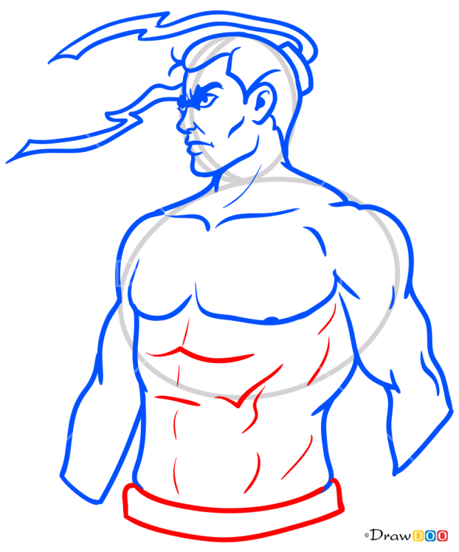 How to Draw Shadow Human, Shadow Fight