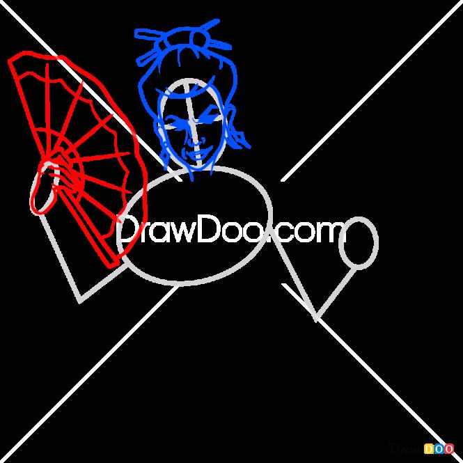 How to Draw Widow, Shadow Fight