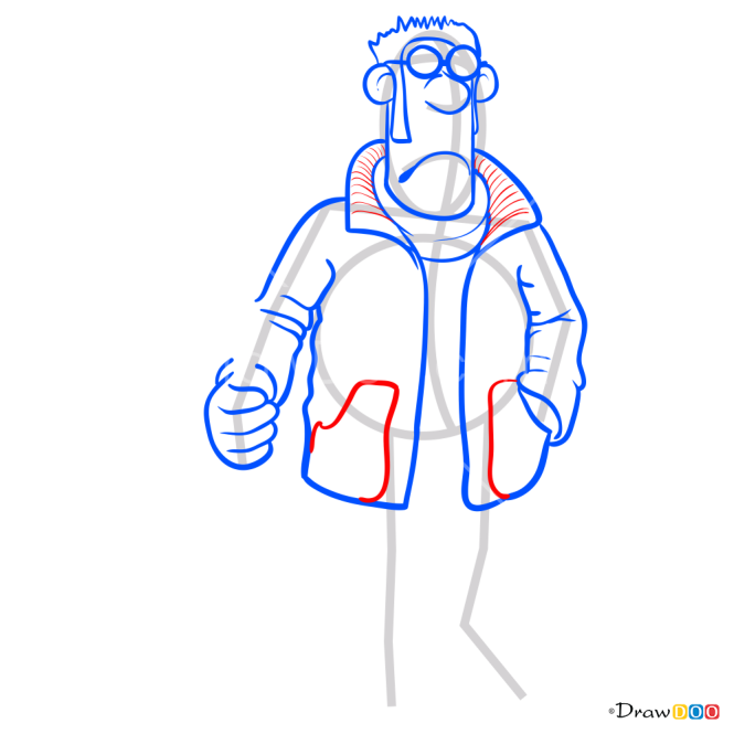 How to Draw Farmer, Shaun the Sheep