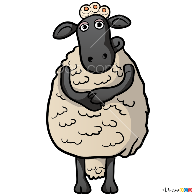 How to Draw Timmy s Mom, Shaun the Sheep