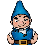 How to Draw Gnomeo, Sherlock Gnomes