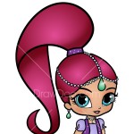How to Draw Shimmer, Shimmer and Shine