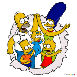 How to Draw Simpsons Family, The Simpsons