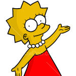 How to Draw Lisa, The Simpsons