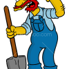 How to Draw Groundskeeper Willie, The Simpsons