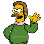 How to Draw Ned Flanders, The Simpsons