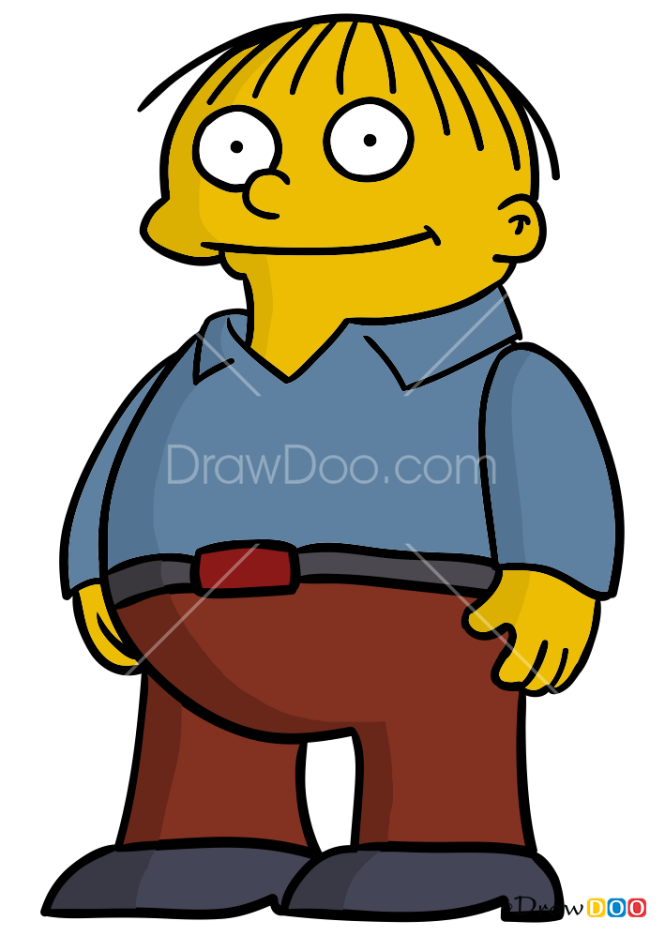 How to Draw Ralph Wiggum, The Simpsons
