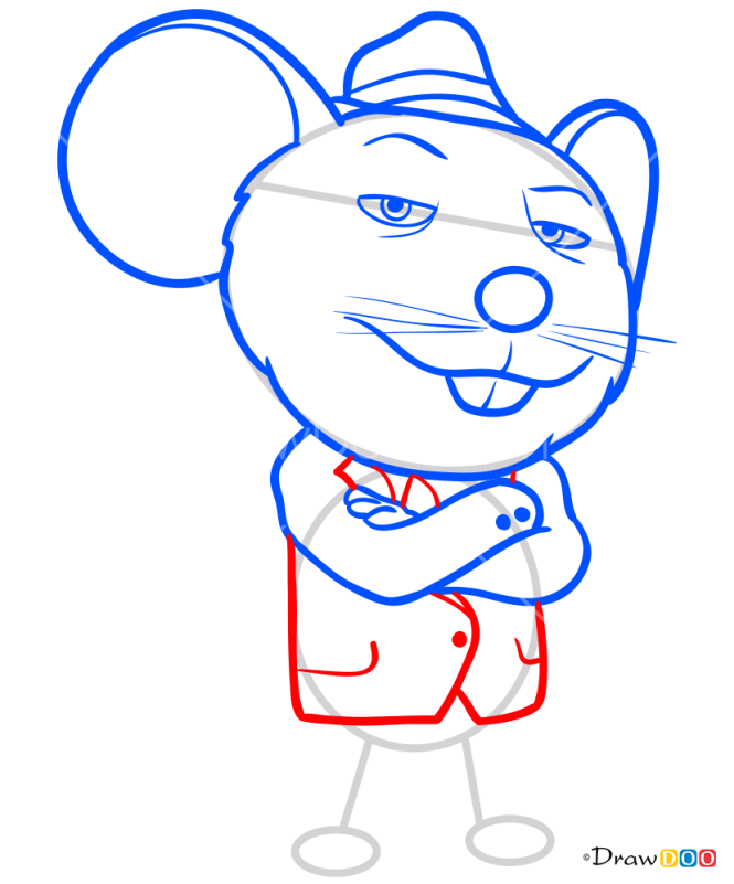 How to Draw Mike, Sing
