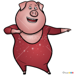 How to Draw Pig, Sing