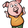 How to Draw Piglet, Sing