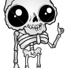 How to Draw Chibi Skeleton, Skeletons