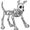 How to Draw Dog Skeleton, Skeletons