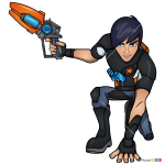 How to Draw Eli, Slugterra