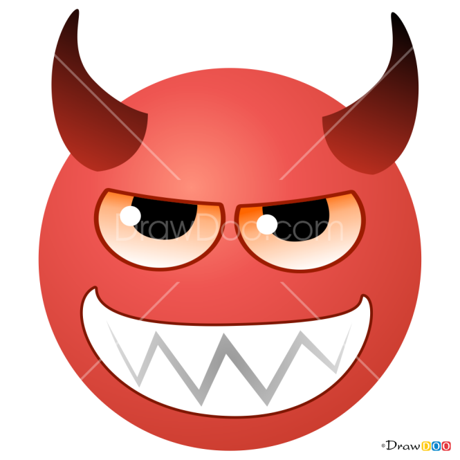 How to Draw Devil, Smilies