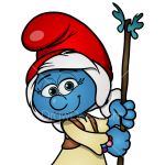 How to Draw Willow, Smurfs