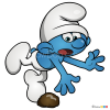 How to Draw Clumsy, Smurfs
