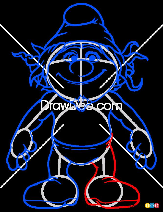 How to Draw Hackus, Smurfs