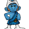 How to Draw Gutsy, Smurfs