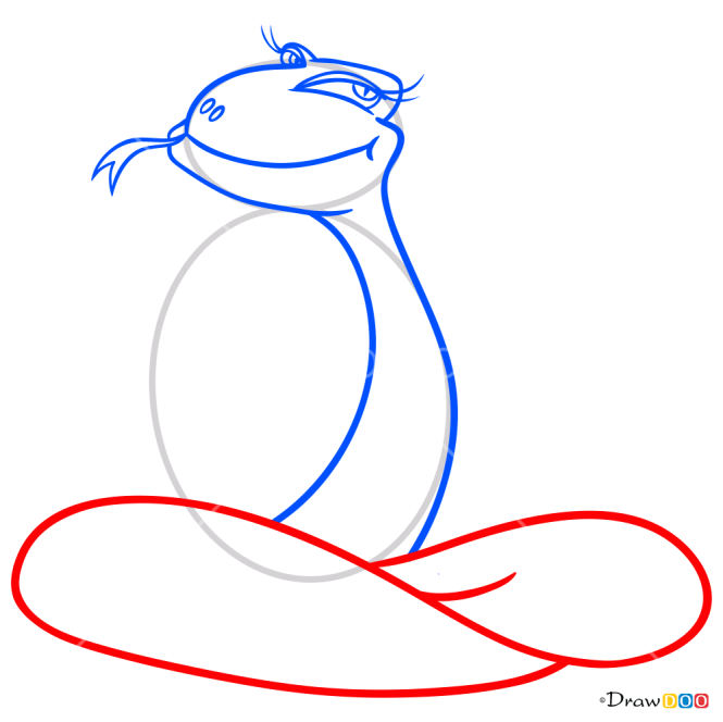 How to Draw Tricky Snake, Snakes