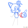 How to Draw Miles Tails Prower, Sonic the Hedgehog