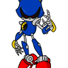 How to Draw Metal Sonik, Sonic the Hedgehog