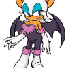 How to Draw Rouge the Bat, Sonic the Hedgehog